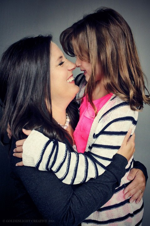 Mother Daughter by Goldenlight Creative