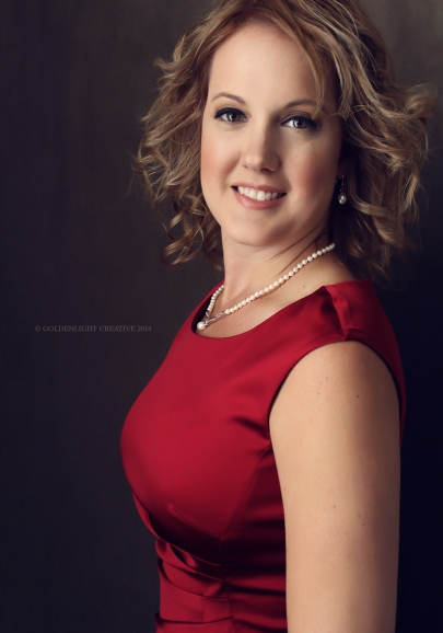 Dallas Photographer Goldenlight Creative Heidi Means portrait American Heart Circle of Red
